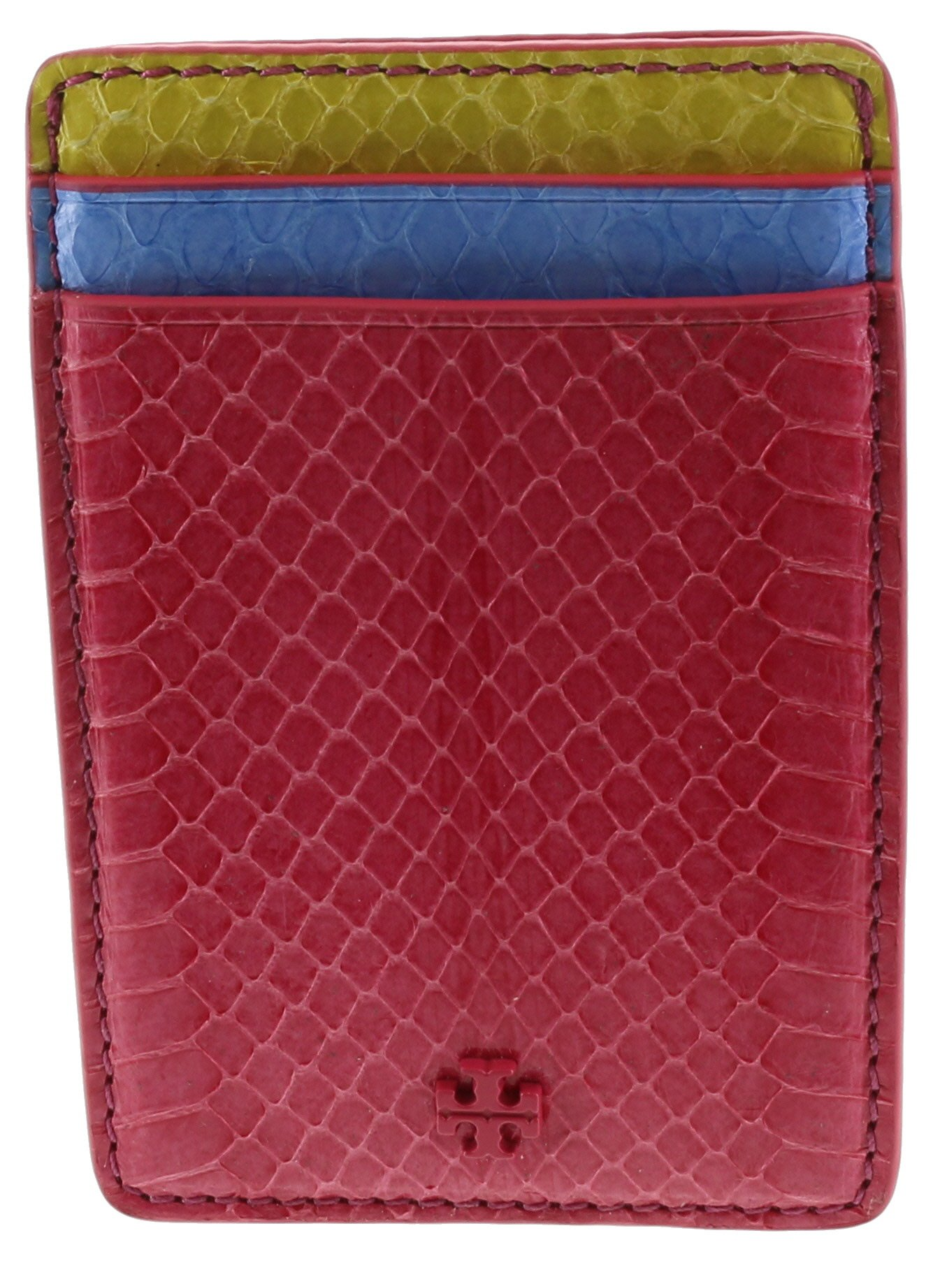 Tory Burch Multi Snake Card Case in Leather, Style No. 30932 (Multi)