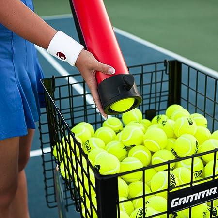 Gamma Deportes Pelota de Tenis Ballhopper balltube - BBTC12, Holds ...