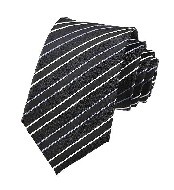 Amazon.com: Elfeves - Corbata formal de negocios para hombre ...