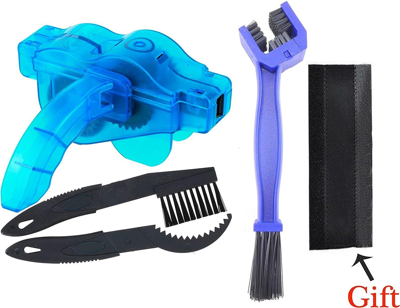 Limpiador de Cadena de Bicicleta, cepillos 3D Limpiador de Cadena ...