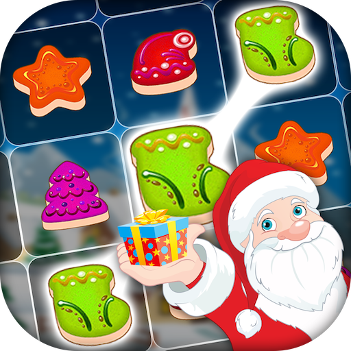 Christmas Cookie: Santa Claus Match Game