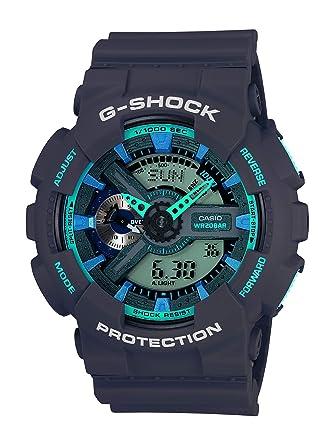 5b9641cd6 Amazon.com: Casio Men's XL Series G-Shock Quartz 200M WR Shock Resistant  Resin Color: Matte Grey (Model GA-110TS-8A2CR): Casio: Watches