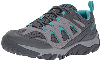 Merrell Womens Outmost Vent Hiking Shoe, Frost Grey, ...