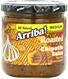 Arriba! Fire Roasted Mexican Medium Chipotle Salsa, 16 Ounce Jars (Pack of 4)