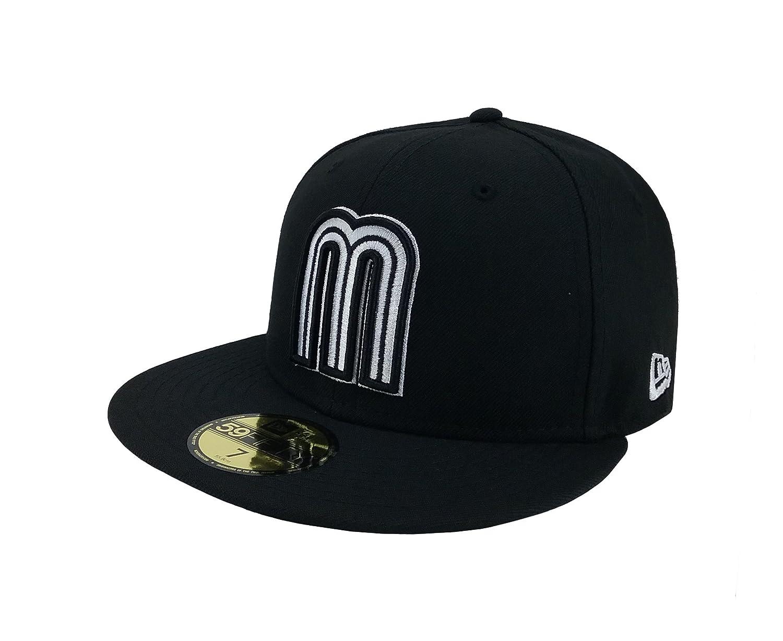 076038fd9 New Era 59Fifty Hat Mexico World Baseball Classic (WBC) 2017 Fitted  Headwear Caps