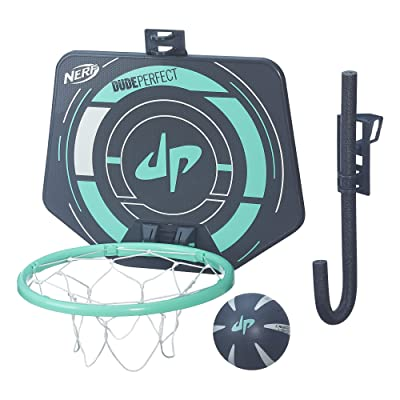 NERF Sports Dude Perfect PerfectShot Hoops: Toys & Games