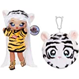 MGA Entertainment Na! Na! Na! Surprise 2-in-1 Fashion Doll and Plush Purse Series 4 – Bianca Bengal