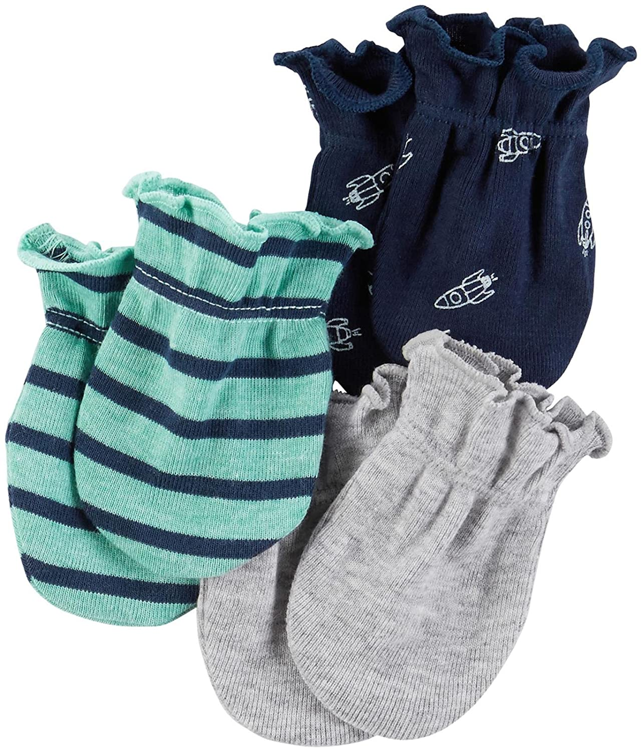 Carter\'s Baby Boys Mitts 126g555 Navy 0-3 Months Baby Carters