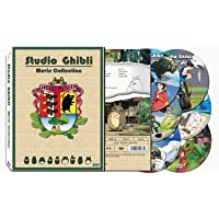 Studio Ghibli Films Collection (Hayao Miyazaki) - 17 Movies on 6 DVDs (English Language Tracks)