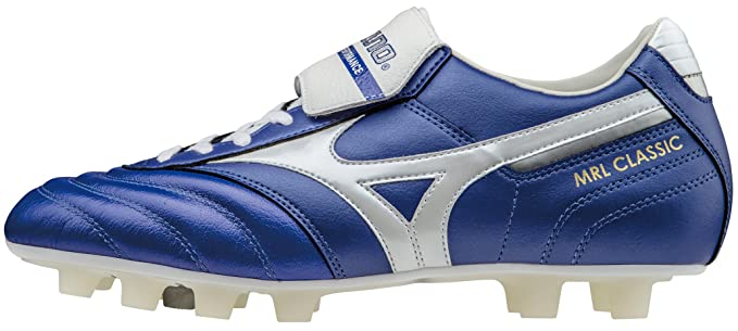 Mizuno MRL CLASSIC MD SCARPE CALCIO SHOES FOOTBALL UOMO MAN (blue/white) P1GA160522   44.5   29cm   UK 10   US 11