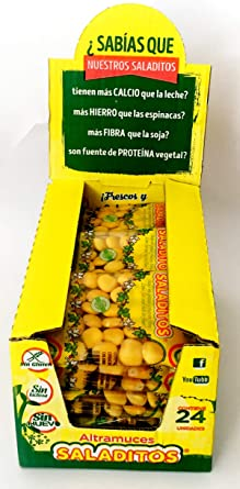 Saladitos Altramuces Bolsa 100 g [Pack 24 ud]: Amazon.es ...