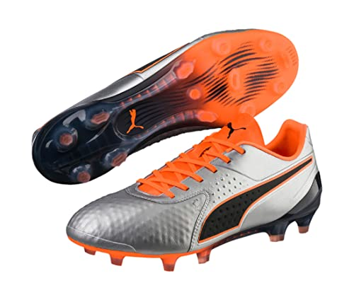 Puma One 2 LTH FG Silber Orange | Trends Sport
