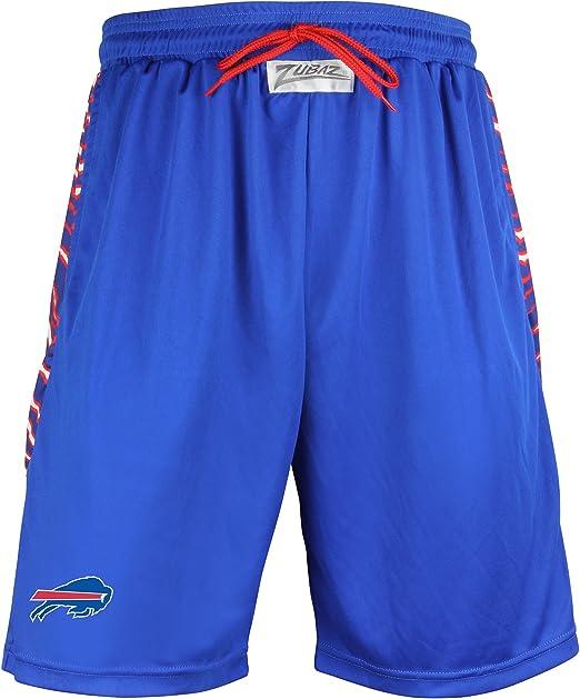 NFL Zubaz Mens Color Grid Shorts