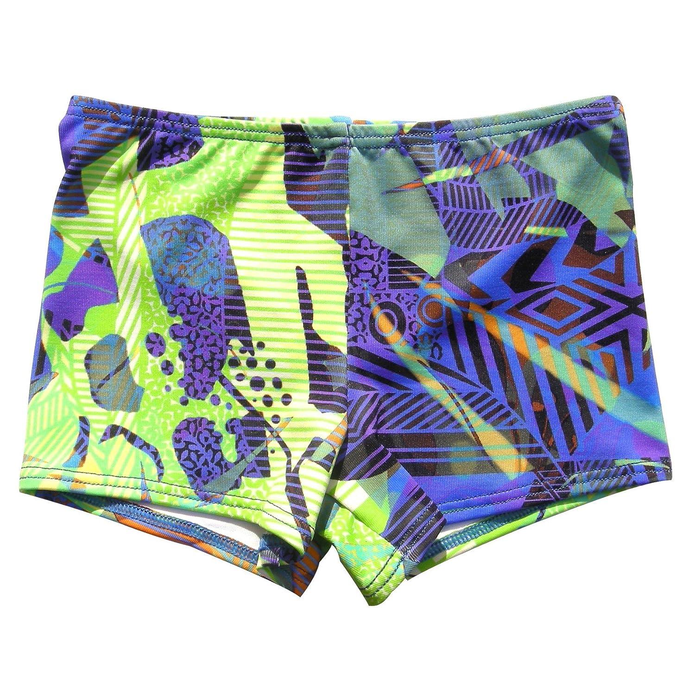 Geo print stretch swim short