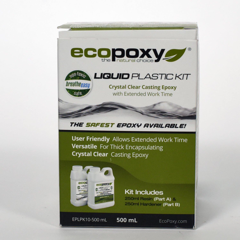 Ecopoxy Liquid Plastic Kits (500 ML)