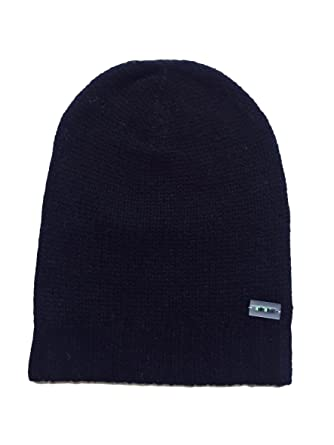 Minimains Unisex Baby Pure Cashmere Beanie Hat 1-2y Black at Amazon ... bc6af58e06d