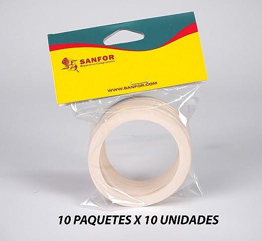 Sanfor 85121 Caja 100 Junta Cafetera O.L. de 6 Tazas Granel ...