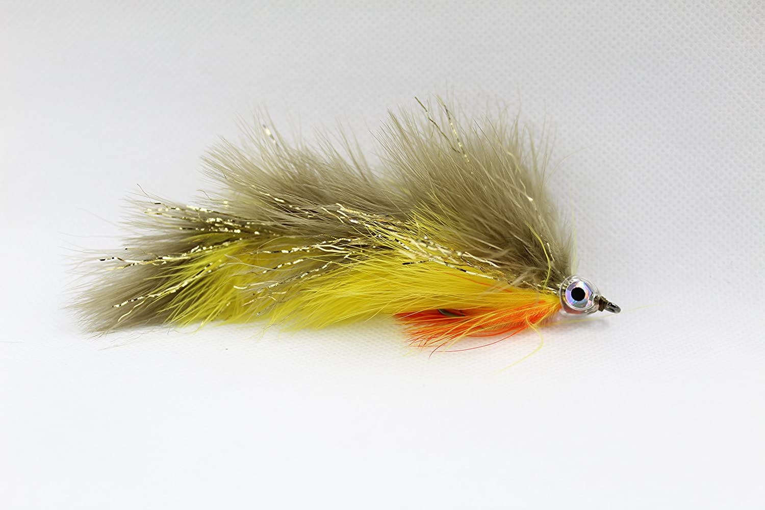 Amazon com : Perch Marabou Game Changer Jointed Bass Trout
