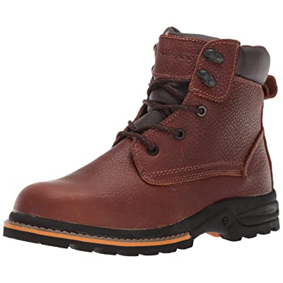 "AdTec Men's 6"" Work Boots, Oiled Leather, Oil Resistant Construction Boot 