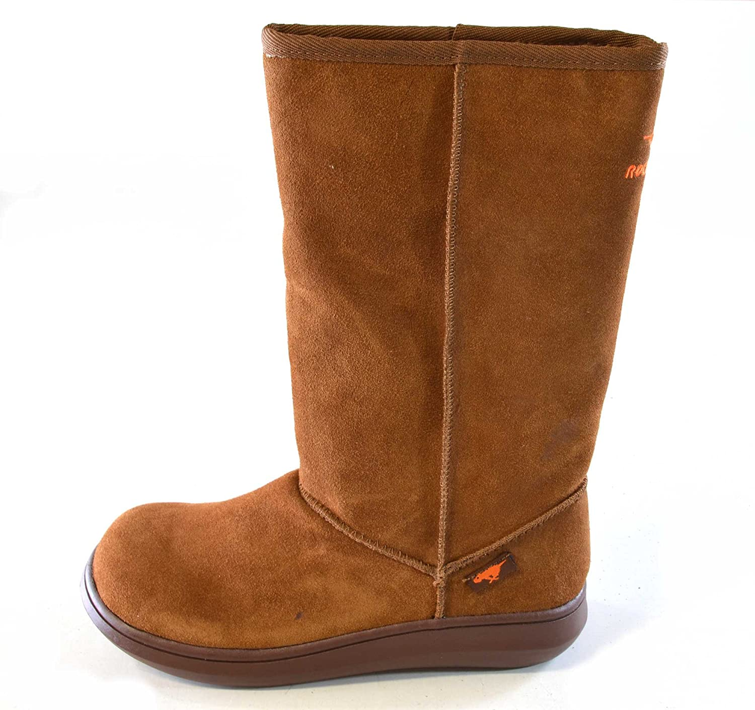 Rocket Dog Sugar Daddy Calf Length Suede Boots with Cozy Fur Lining (5,  Chestnut): Amazon.co.uk: Shoes & Bags