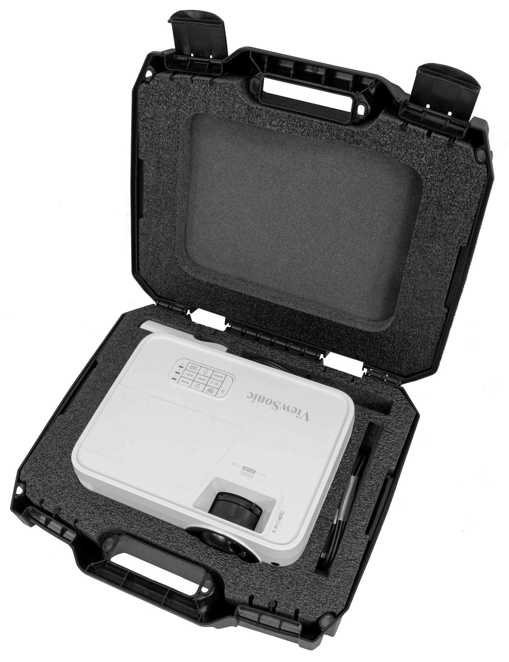 ViewSonic Compatible PX706HD Case Club Projector Carrying Case by Case Club