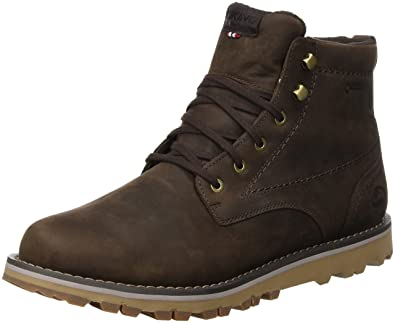 Mens Vale Ankle Boots, Brown-Dark Blue, 11 UK Viking