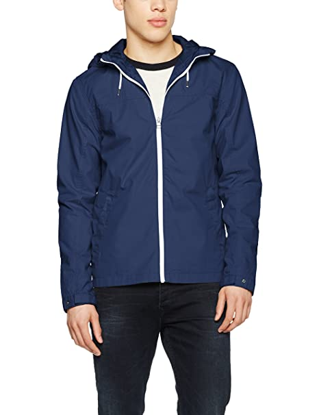 Jornew Fate Long, Parka para Hombre, Verde (Forest Night), Medium Jack & Jones