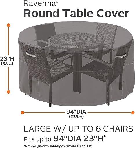 GIARDINI DEL RE Cover for Round Tables cm 125/x 70h
