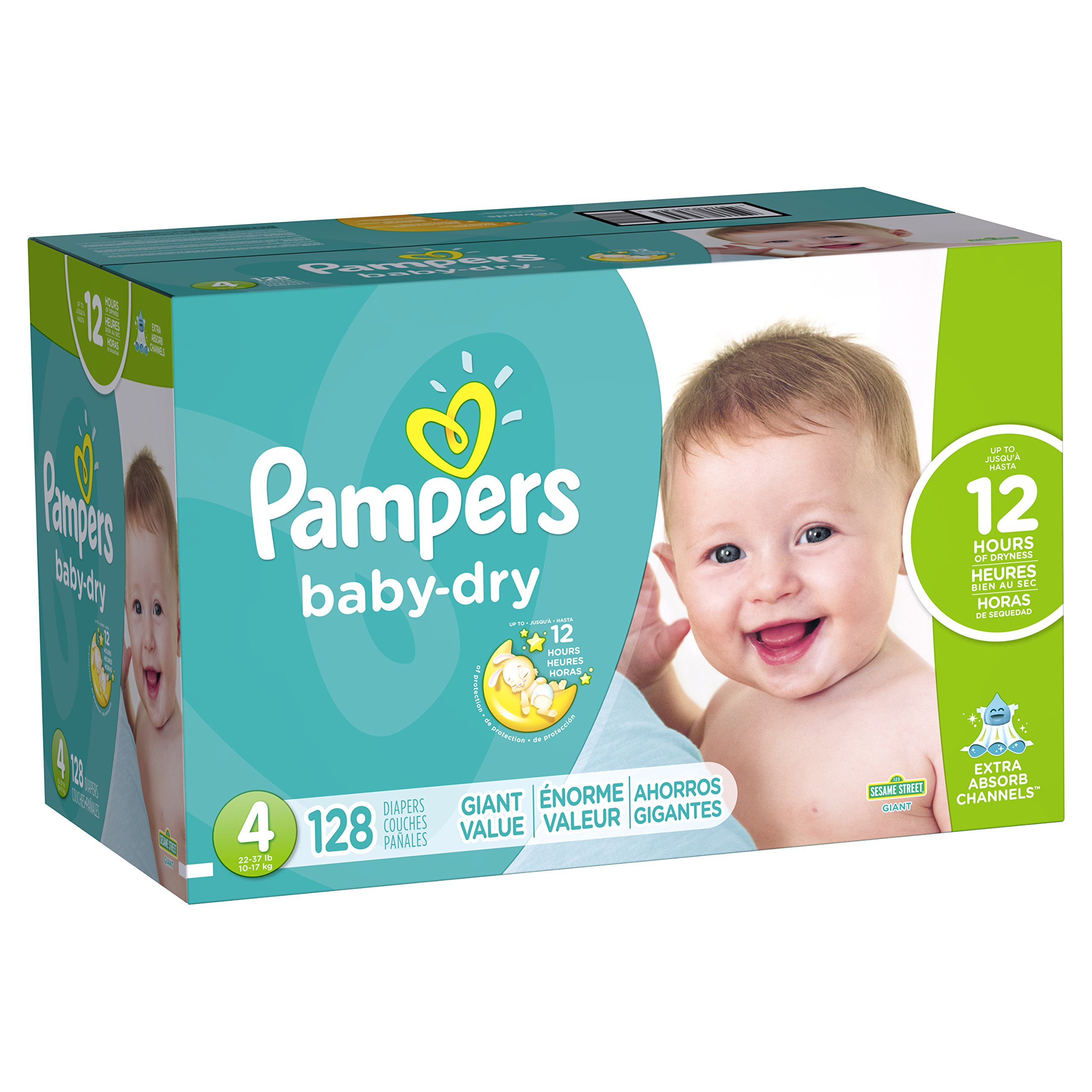 Amazon Com Pampers Cruisers Disposable Diapers Size 4