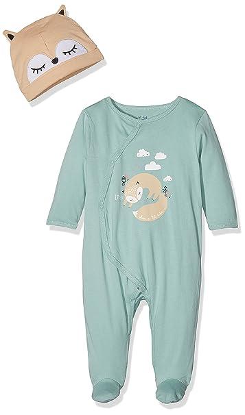 ENS, Pelele para Bebés, Verde Menthol, 0