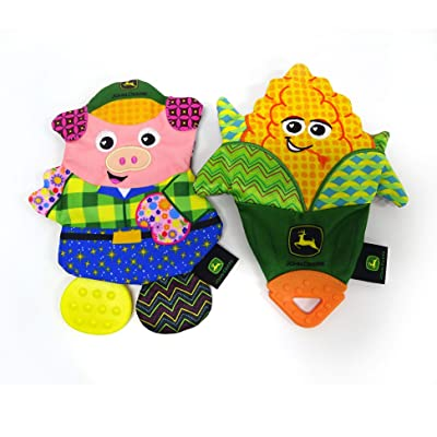 John Deere Lamaze Chill Teethers, Pack of 2, Ages 0+, LP73961 : Baby