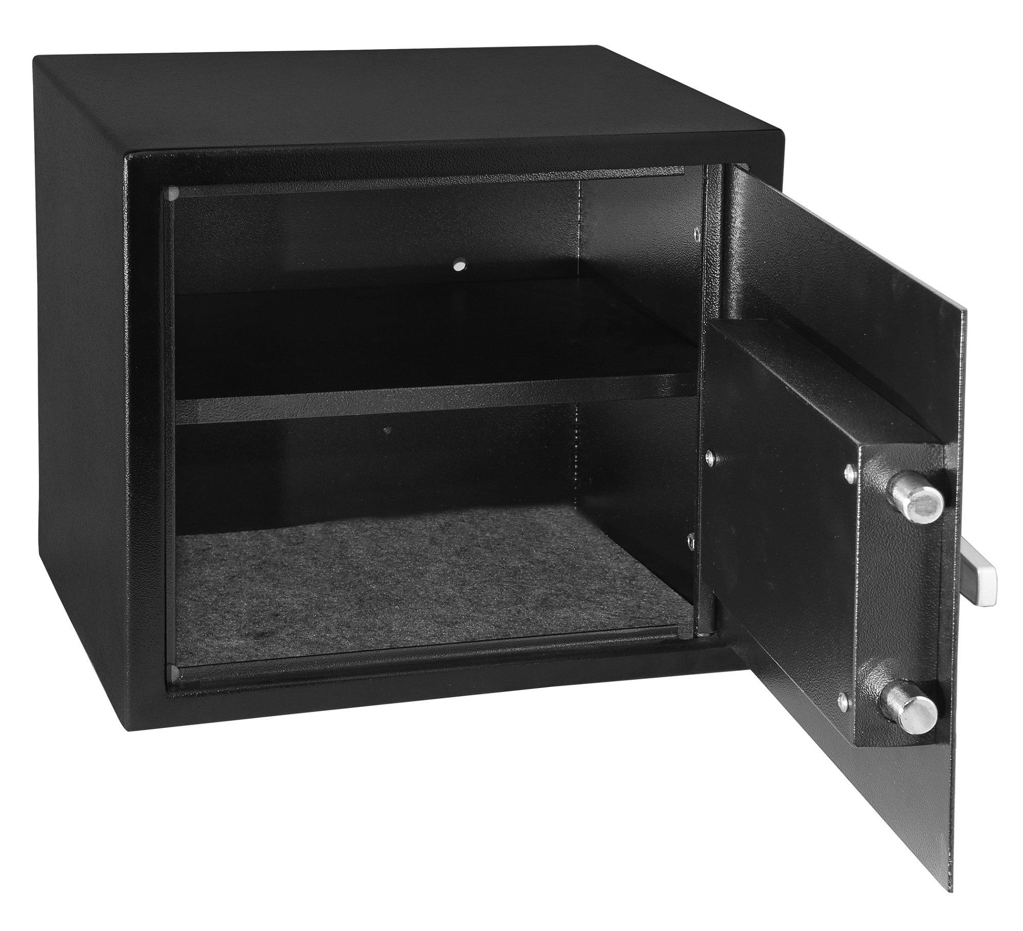 Honeywell Safes & Door Locks 814113015819 5123U Combination Dial Steel Security Safe, 16 x 12.8 x 14 inches, Black