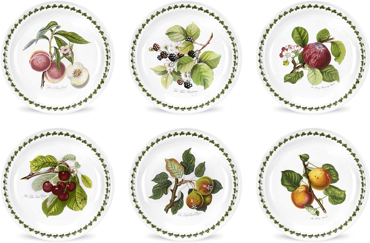 Lot de 6 Assiette Multicolore Pomona 25/cm