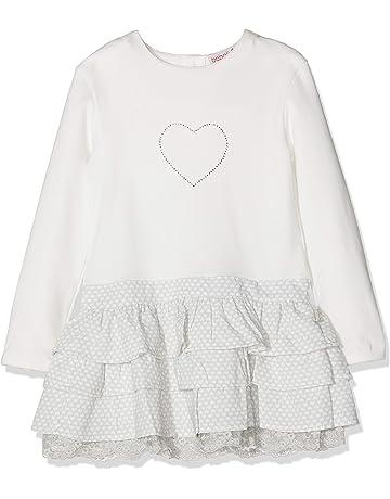 boboli Combined Dress For Baby Girl Vestido para Bebés