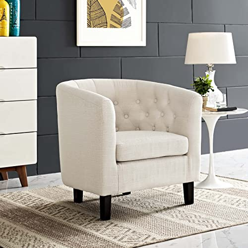 Modway Prospect Upholstered Fabric Contemporary Modern Accent Arm Chair