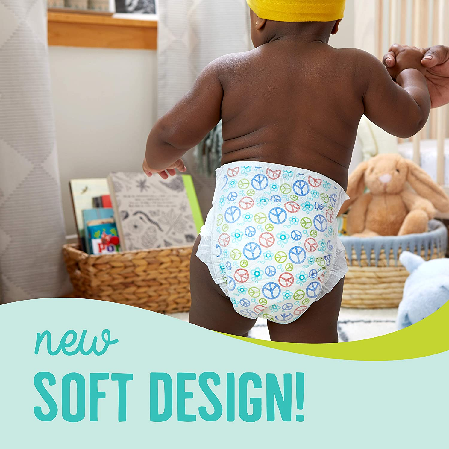 Seventh Generation Baby Diapers Sensitive Protection Free /& clear size 1 31 count