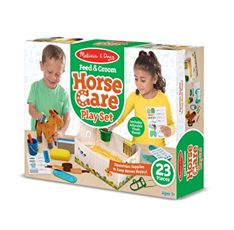 Image result for melissa and doug horse grooming