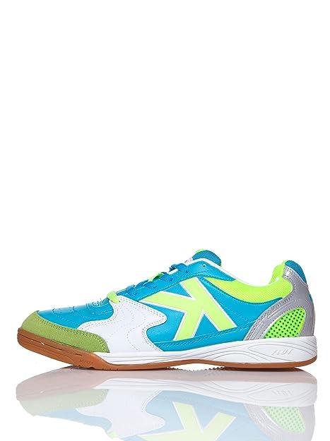 KELME Zapatillas Fútbol Sala Fultac Neo Turquesa EU 39.5: Amazon.es: Zapatos y complementos
