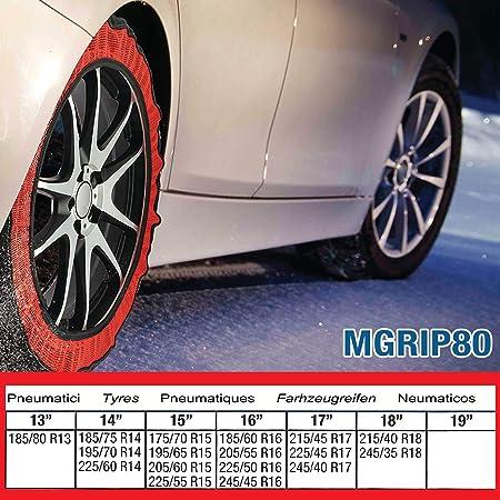 Ototop Multigrip80 Calza Da Neve Multigrip 80  Amazon.it  Auto e Moto 441594c1465b