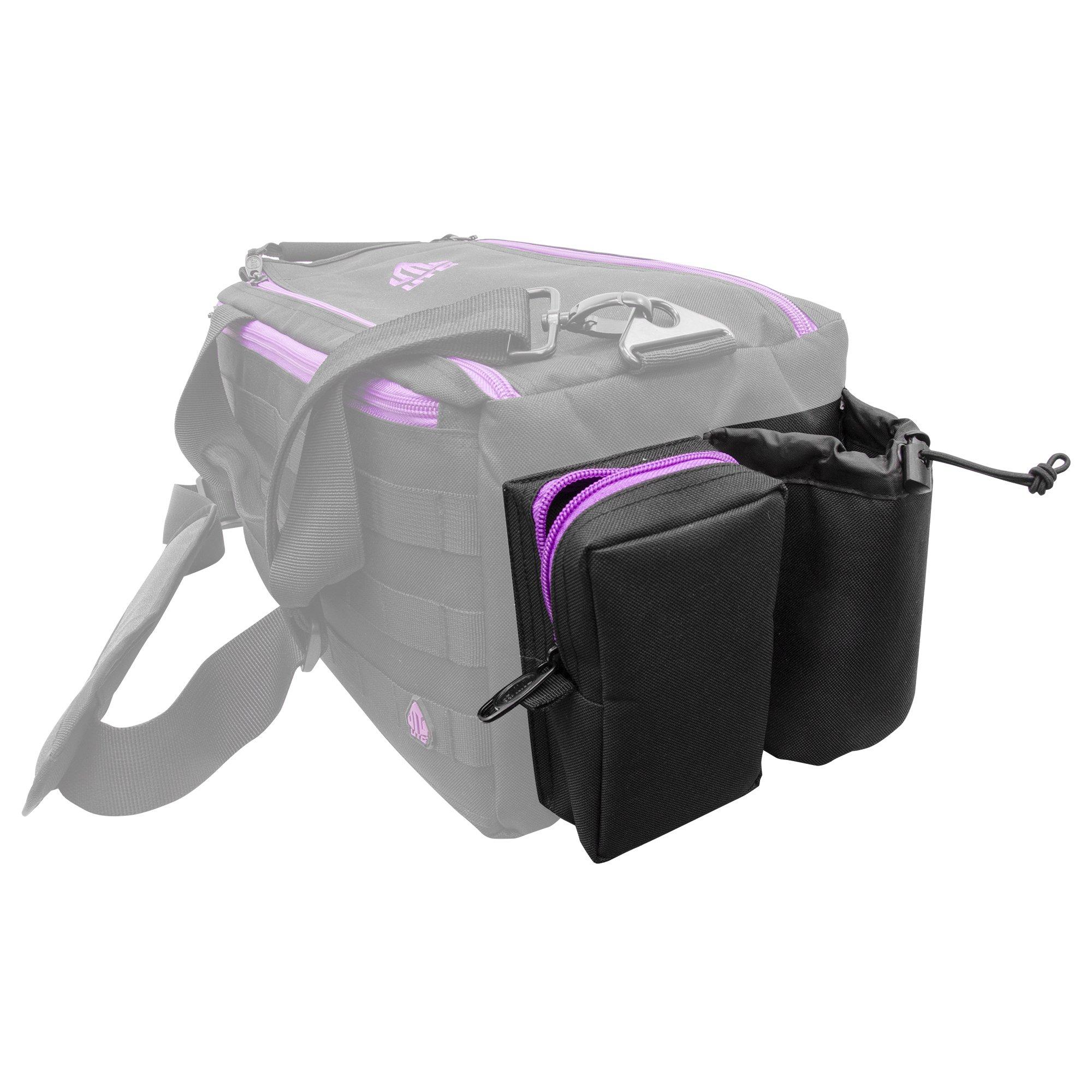 UTG All in One Range/Utility Go Bag, Black/Violet, 21'' x 10'' x 9'' by UTG (Image #5)