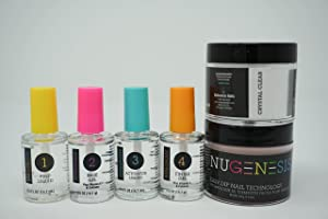 Nugenesis Dipping Powder Starter kit with Clear powder