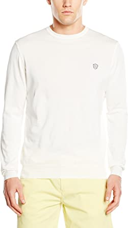 GALVANNI Camiseta Manga Larga Jimso Blanco Roto M: Amazon.es: Ropa y accesorios