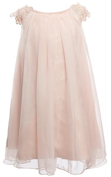 60% discount best sneakers outlet store sale Mrprettys Blush Ivory Chiffon Flower Girl Dress Toddler Dress Girls Wedding  Party Dress