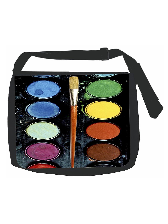 Amazon.com: Acuarela Paleta De Pintura de impresión – negro ...