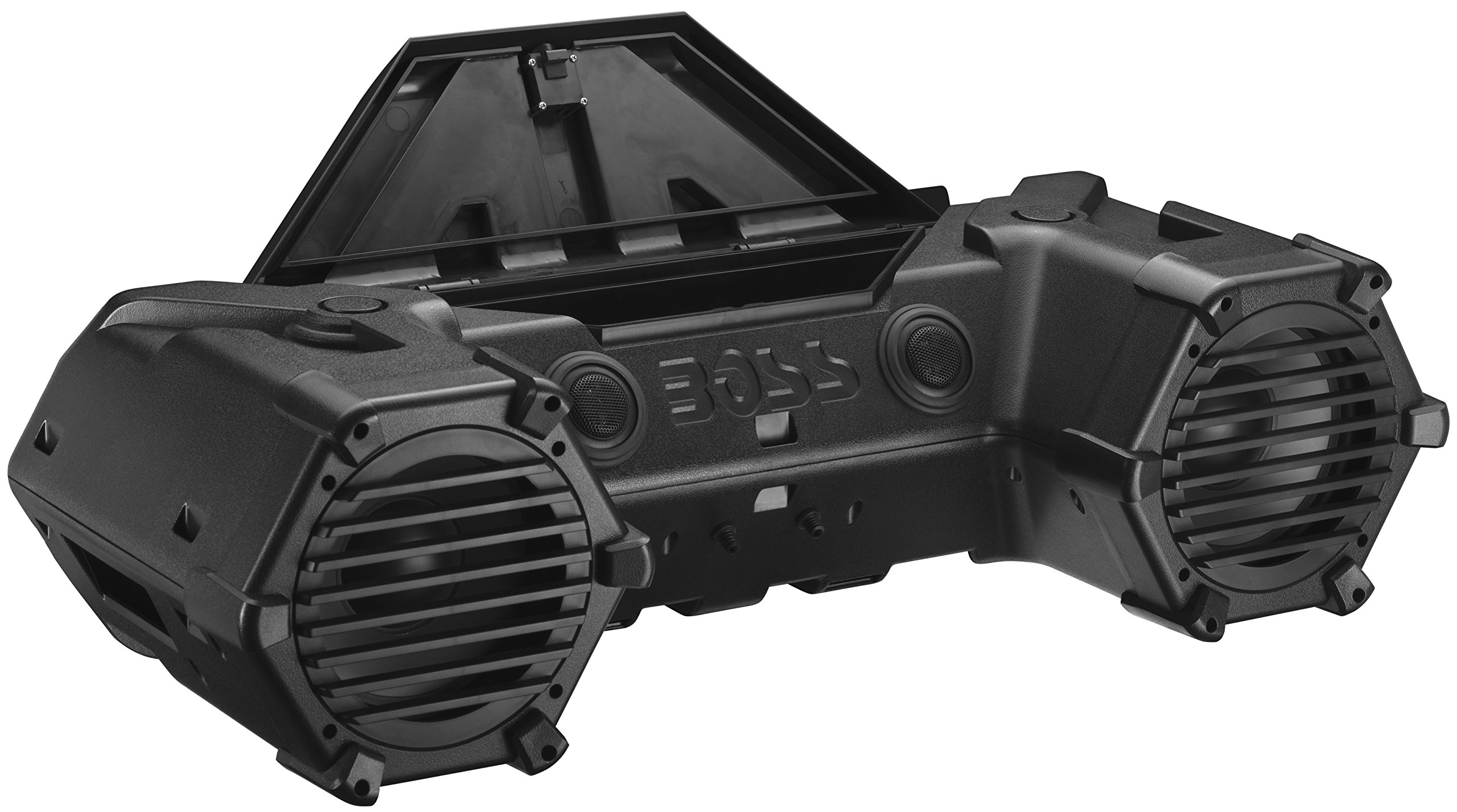 BOSS Audio ATVB90 Bluetooth, Amplified,  ATV/UTV Sound System, Weather-Proof Marine Grade, Bluetooth Remote, 12 Volt Application Friendly by BOSS Audio (Image #2)