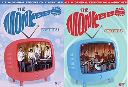 Amazon com: The Monkees Season 1 & 2 Collection DVD Complete
