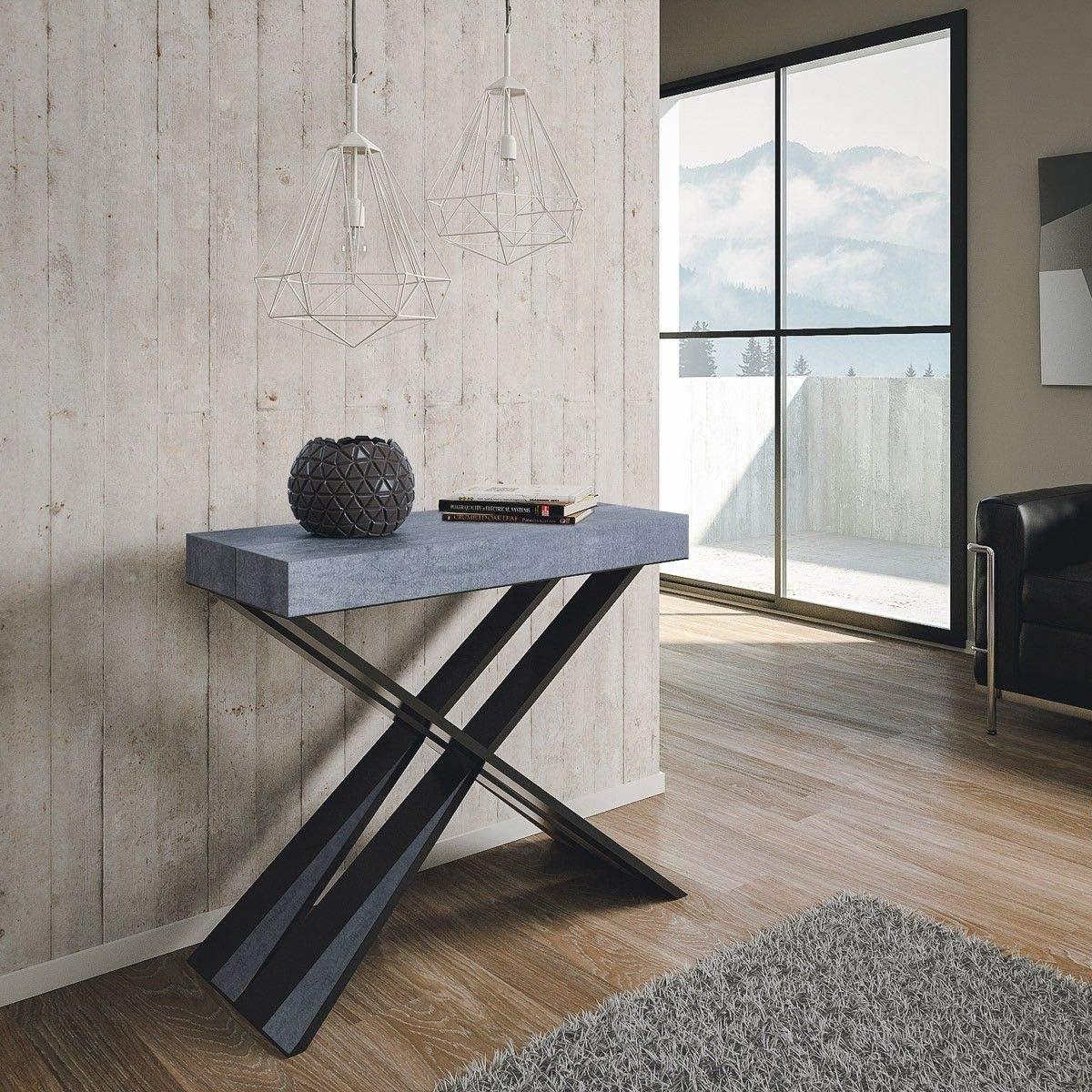 Itamoby Diago 90 cm Consola Extensible, Paneles de nobilitato ...