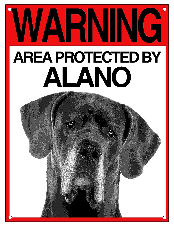 Lovelytiles Alano matrícula Cuidado con el Perro Cartel ...
