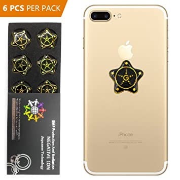 huge selection of 0952d 95b53 Amazon.com: Cell Phone Radiation Protector Shield Sticker-The Best ...