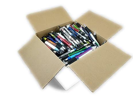 Assorted Misprint Ink Pens Ballpoint Retractable Office Big Bulk Lot (4 Lb)